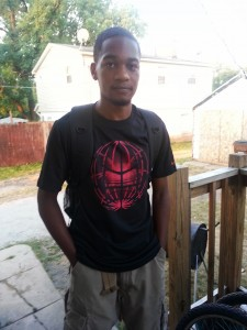 Son Amoz started back to high school last week.
